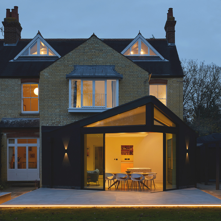 Contemporary extension cambridge
