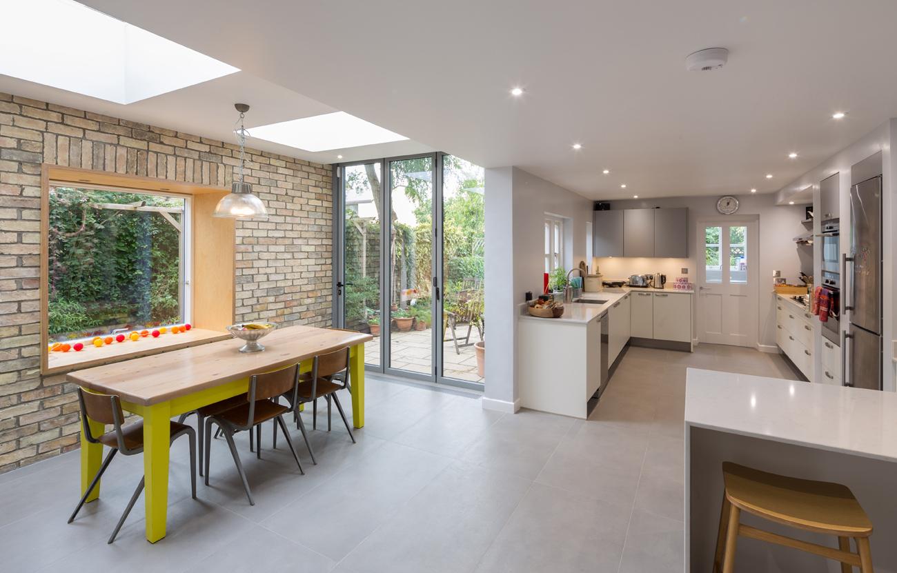 Modern interior of house in cambridge