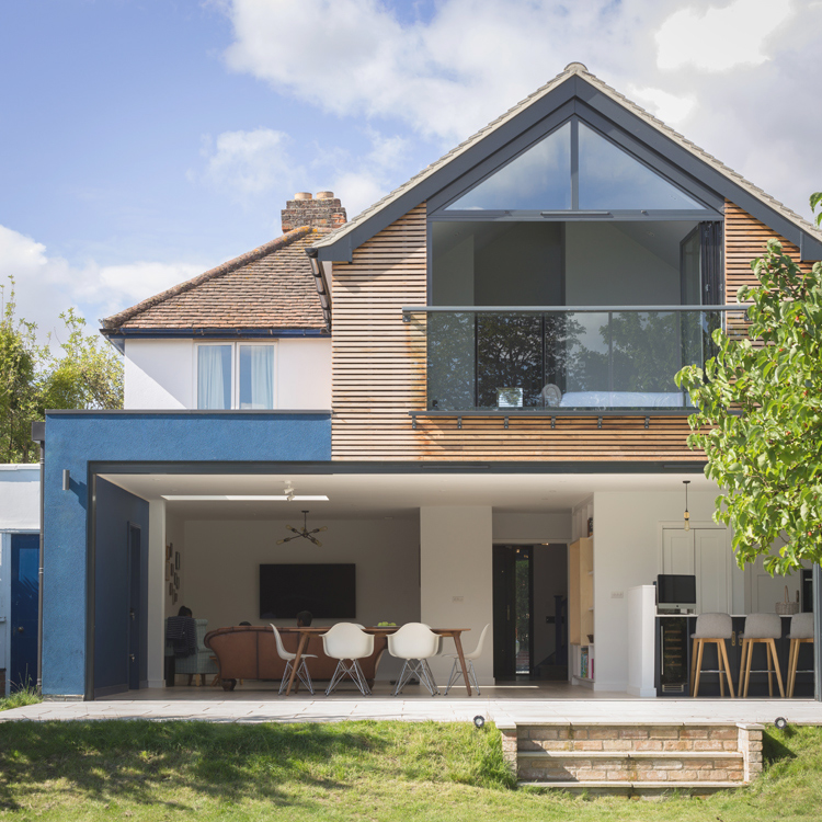 Blue render extension cambridge